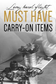 Must have carry on items for long haul flights ever wondered what you