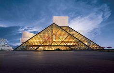 Rock N Roll Hall of Fame, Cleveland, Ohio