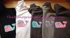 Lilly Pulitzer monogram Whale zip sweatshirt from TheMonogrammingQueen on Etsy. Preppy Girl, Preppy Style, My Style, Down South, Fashion Essentials, Autumn Winter Fashion, Lilly Pulitzer, Dress To Impress, Casual Outfits