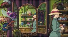 Howl's Moving Castle / Das wandelnde Schloss / Hauru no ugoku shiro - Desktop Nexus Wallpapers Art Studio Ghibli, Studio Ghibli Films, Hayao Miyazaki, Shiro, Totoro, Chihiro Y Haku, Quiet Girl, Steampunk, Howls Moving Castle