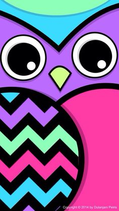 #owl #cute #purple