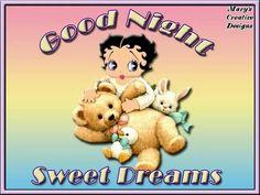 Good Night Bed Bug Bites, Good Night Sleep Tight, Hello Goodbye, Good Night Sweet Dreams, Betty Boop, Good Morning, Teddy Bear, Toys, Creative