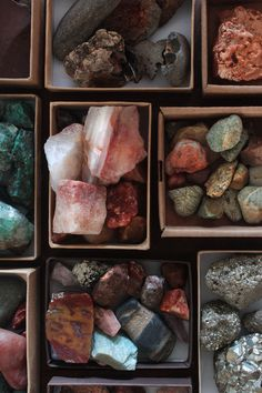 I have this childhood urge to restart a rock collection...