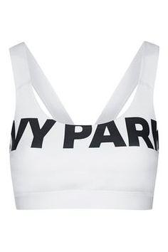 4b3ba8e9a53cc V-Back Mesh Insert Bra by Ivy Park Ivy Park Clothing