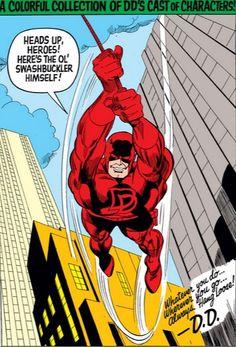 Daredevil Annual #1 pin-up