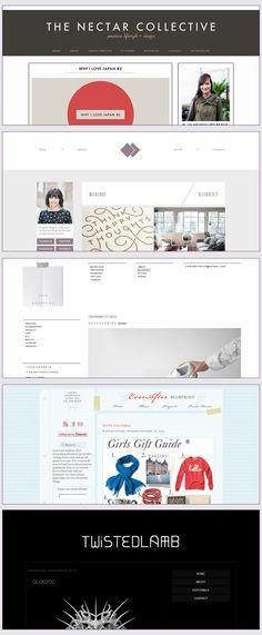 Beautiful Blog Designs | Noor AlQahtani
