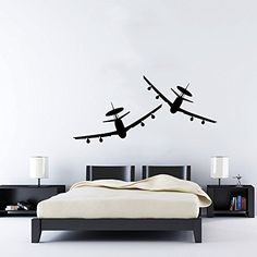 Wall decals quotes alice in wonderland wall decal quote for Aviation wall mural