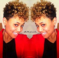 66 ideas for hair styles short curly natural curls tapered twa Short Curly Hair, Short Hair Cuts, Curly Hair Styles, Natural Hair Styles, Short Curls, Curly Fro, Short Afro, Deep Curly, Tapered Natural Hair
