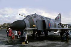 F-4 Phantom: RAF Phantom XT907 HMS Gannet/Prestwick Airport