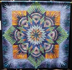 tropical quilts   Hawaiian Star by Dawn Brenton and Tracey Royce ... absolutely gorgeous ...