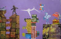 High School, silhouette project, composition, contour line, cut paper, scenes, movement, pos/neg, scale, symmetry, balance, repetition, Kara Walker, Indonesian shadow puppets.