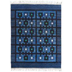 """Berit Koenig Flat-Weave Carpet, """"Tjuven I Baghdad"""""""