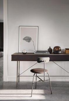Sorensen chair in leather - via Coco Lapine Design