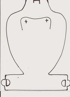 Plantilla para el Exhibidor de collares