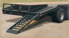 Coose Trailers | Flatbed Gooseneck Trailers