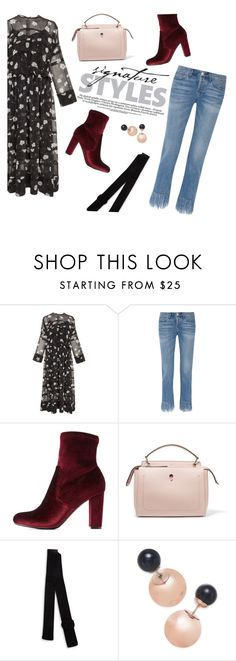 """""""Girls just wanna have Fun-damental Rights"""" by euphemiasun97 ❤ liked on Polyvore featuring Carven, 3x1, Charlotte Russe, Fendi and Kate Spade"""