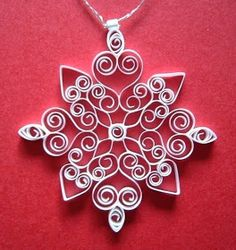 Arts Quilling: Christmas decoration
