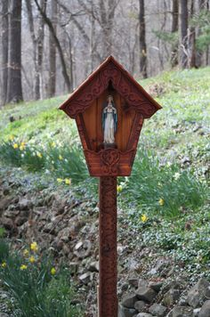 Marian Alpine Wayside Shrine, Outdoor Garden Shrine