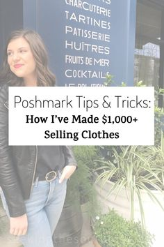 Poshmark Tips & Tricks: How I've Made $1,000  Selling Clothes Make Money From Home, Make Money Online, How To Make Money, Selling Online, Selling On Ebay, Cold Hard Cash, Resale Clothing, What To Sell, Cocktail