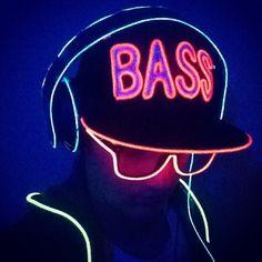 Light Up BASS hat