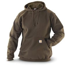Carhartt® Men's Midweight Hooded Pullover Sweatshirt, Navy