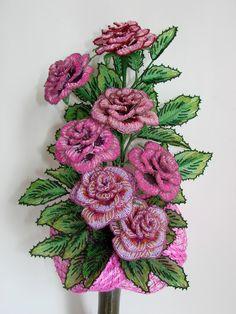 Печальные розы | biser.info - всё о бисере и бисерном творчестве
