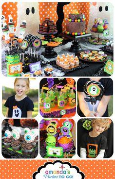 Halloween Party Printable Instant Download por AmandasPartiesToGo