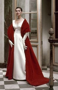 Balenciaga Vogue 1952 Frances McLaughlin-Gill