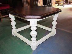 Felújított rusztik szalon asztal