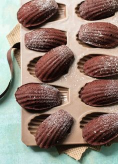 French Chocolate Madeleines