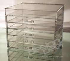 The Clear Cube - 5 Drawer Wide Clear Cube