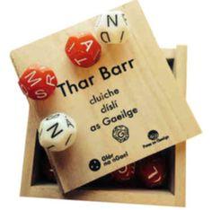 Thar Barr – Údar Online Store Ireland, Irish, Learning, Dice, Store, Ideas, Products, Irish Language, Studying