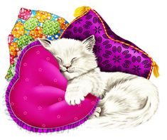 Kittens Playing, Cats And Kittens, Gifs, Gif Animé, Cat Art, Cartoon, Funny, Outdoor Decor, Om