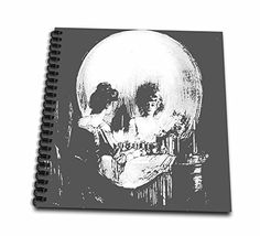 3dRose db_46711_1 All is Vanity Ghost, Halloween, Optical Illusion, Paranormal, Seasonal, Silhouette, Skeleton Drawing Book, 8 by 8-Inch 3dRose http://www.amazon.com/dp/B00B9R0JRM/ref=cm_sw_r_pi_dp_5MILwb00NSZS0