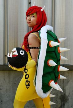 Bowser aka Queen Koopa - Chloe Sofia H Bowser Cosplay Photo - WorldCosplay