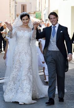 Luxembourg Royal Wedding: Prince Felix, Claire Lademacher Have Second Ceremony (PHOTOS)