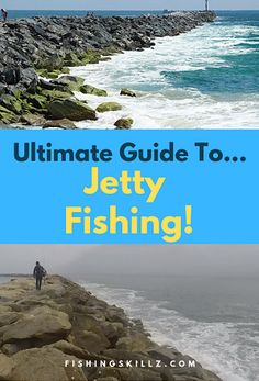 The ultimate guide to jetty fishing Oregon and in the Pacific Northwest. Jetty fishing is a great way to start saltwater fishing. And with the right jetty fishing rig, you'll catch many different types of saltwater fish. Trout Fishing Rods, Surf Fishing Tips, Saltwater Fishing Gear, Crappie Fishing Tips, Fishing Rigs, Sport Fishing, Best Fishing, Fly Fishing, Fishing Bobbers