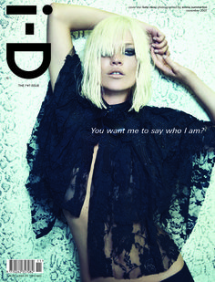 The !#*? Issue No. 282 November 2007 Kate Moss by Emma Summerton