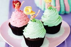 If you grew up having dolly varden cakes you'll absolutely love these fun cupcakes where every little girl gets to have her own princess!