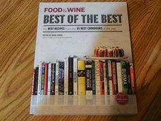 Food & Wine Best of the Best Cookbook 2013 Hardcover Illustrated Cookbooks