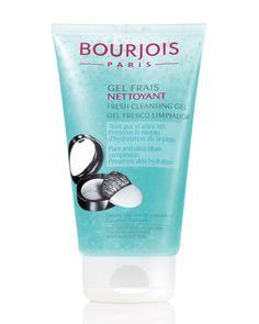 Gel Frais Nettoyant, um gel fresco para limpeza da pele. Uma limpeza suave que não agride à pele. Fórmula com células de pepino, que possuem propriedades hidratantes e micro-esponjas que absorvem a oleosidade.
