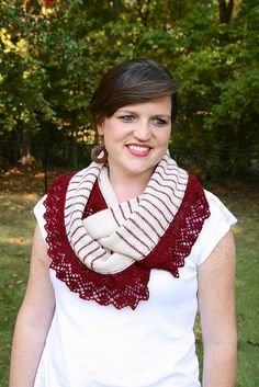 Ravelry: Lady Louise Infinity Cowl pattern by Christina Wall