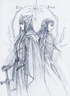Elrond & Elros by Ironhill