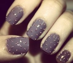 Studded Nails.