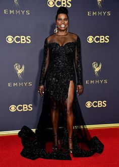 "soph-okonedo: "" Leslie Jones attends the 69th Annual Primetime Emmy Awards at Microsoft Theater on September 17, 2017 in Los Angeles, California """