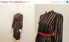 45 OFF Vintage Dress 70s does 40s Secretary by 2sweet4wordsVintage, $19.25