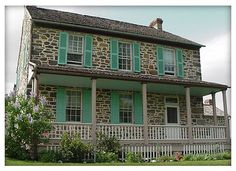 Rose Farm House - Gettysburg, PA. My dad was a park ranger and my family lived here when I was born. I have so many great memories of this house; playing hiding seek in the secret staircase, feeding the cows over the fence, swinging on the front porch...
