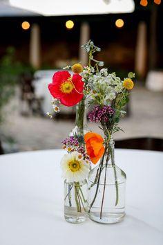Wildflower Centerpieces, Wedding Centerpieces, Wedding Decorations, Wildflower Wedding Bouquets, Wedding Reception Flowers, Floral Wedding, Wedding Colors, Wild Flower Wedding, Wedding Mood Board