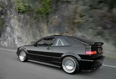 Black VW Corrado, CCW Classic wheels and Schmidt TH-Line (replica) for stance lowdaily Vw Corrado, Volkswagen, Jdm, Vw Motorsport, Muscle Cars, Convertible, Vw Scirocco, Vw Cars, Golf Humor