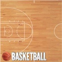 Reminisce Real Sports Basketball Sports Scrapbook Paper